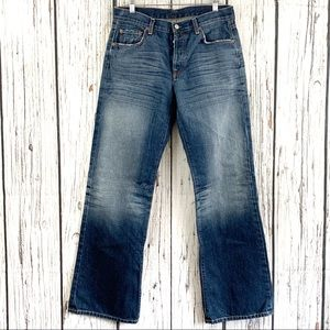 7FAMK by Jerome Dahan Button Fly Jeans